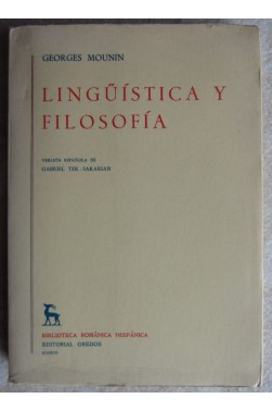 Linguistica y filosofia