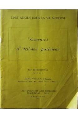 L'art Ancien Dans La Vie Moderne février-mars 1952 : Demeures D'artistes Pari...