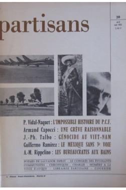 Partisans N° 20 - 1965 [Broché]