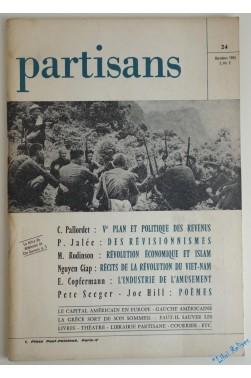 Partisans N° 24, Décembre 1965