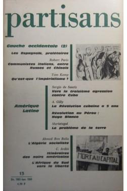 Partisans, bimestr. puis mensuel, paris, 1961...