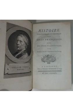 Histoire philosophique et politique des isles françaises dans les Indes occidentales