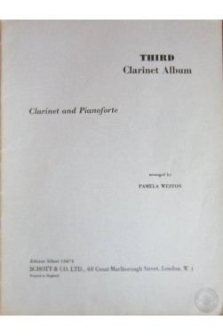 Third Clarinet album - Clarinet (Bb) and pianoforte arrangements
