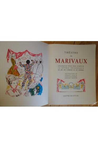 Théâtre de Marivaux. Illustrations de Grau Sala, gravées par Roger Boyer. 2/2