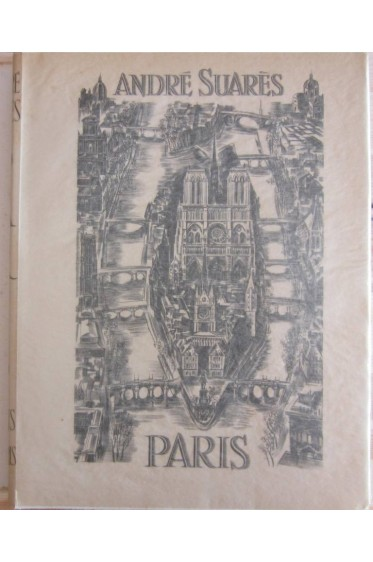 André Suarès. Paris. Edition originale avec les burins de Decaris + suite