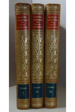 Histoire contemporaine par trois indépendants 1914 - 1930, 3 vomumes reliés
