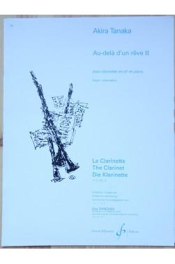 Au-delà d'un rêve II - La clarinette, degré préparatoire - Collection Dangain