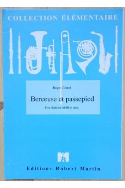 Berceuse et passepied - pour Clarinette si b Bb et piano - Collection élémentaire -