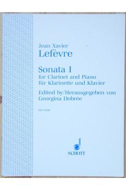 Sonata 1 for Clarinet and Piano - edité par Georgina Dobrée