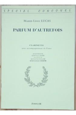 Parfum d'autrefois - Clarinette avec accompagnement Piano - Spécial concours