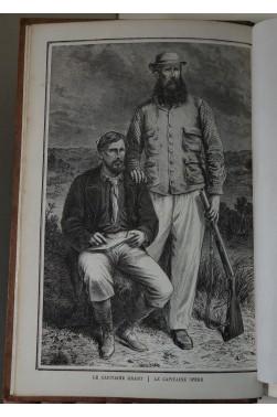 Les Sources du Nil, journal de voyage du capitaine John Hanning Speke. Gravures de Grant, 1865