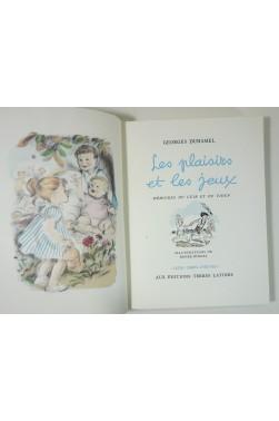 Les Plaisirs et les jeux. Mémoires du Cuib et du Tioup. Illustrations de Renée Ringel