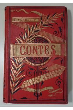Contes de Perrault, Contes de Mme d'Aulnoy. Cartonnage illustré, Delarue