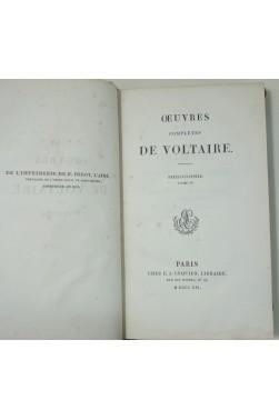 Philosophie, tome IV - Oeuvres complètes de Voltaire, tome 34. Lequien, 1821