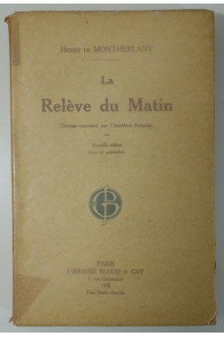 La relève du matin. Nouvelle édition, Bloud et Gay, 1925