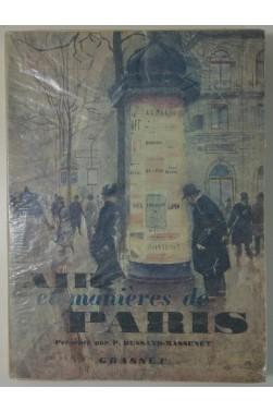 Air et manières de Paris. 12 héliogravures, Grasset 1951