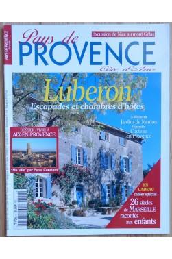 Pa Provence, côte d'Azur n°11 - Luberon, Escapades et chambre d'hôtes - Mai/Juin 1999 -