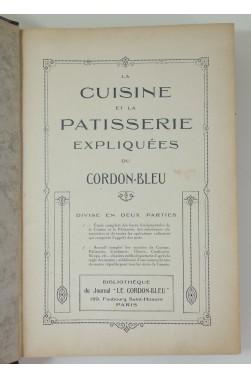 La Cuisine et la Patisserie expliquées du Cordon-Bleu