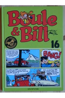Boule et Bill - n°16 - Edition spéciale 40è anniversaire - Ed. Dupuis -
