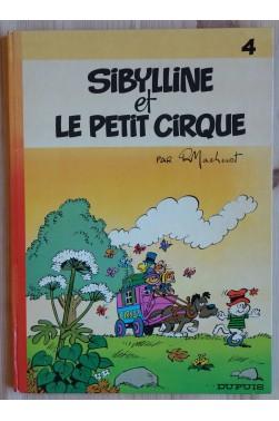 Sibylline et le petit cirque - EO - Editions Dupuis - 1974 -