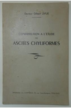 Contribution à l'étude des ascites chyliformes