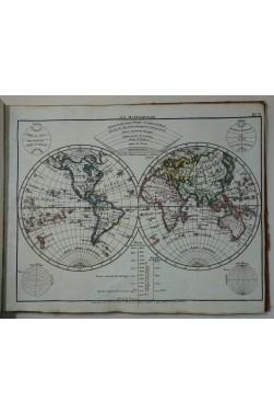 Nouvel Atlas portatif, géographie universelle ancienne et moderne. 51 cartes coloriées, Desray, 1816