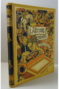 L'Automobile enchantée. Compositions de R. Pinchon. Cartonnage illustré Delagrave