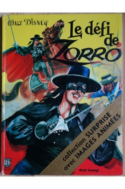 Le défi de Zorro - Collection surprise avec images animées - Rare - 1972 -