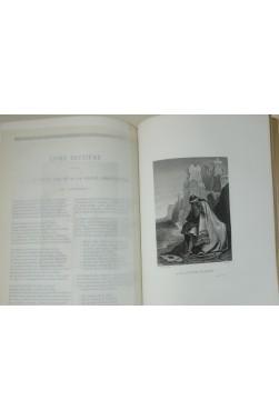 Oeuvres Complètes de Casimir Delavigne, théâtre, poésie. Fines gravures de A. Johannot. Didier 1855