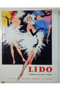 Plaquette du LIDO - spectacle Au plaisir - décembre 1959 photos