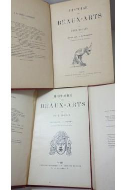HISTOIRE DES BEAUX-ARTS, 3 TOMES: TOME 1: ANTIQUITE-ORIENT, TOME II: MOYEN AG...