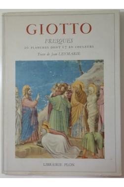 Giotto - Fresques. 20 planches dont 17 en couleurs. Librairie Plon