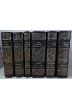 L'oeuvre romanesque de Henri de Régnier. 6 volumes illustrés sur Japon - Envoi de l'auteur à Pozner