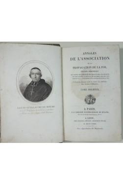 Annales de L'Association de la Propagation De La Foi - Tome 1er, Recueil Periodique 1 à 6