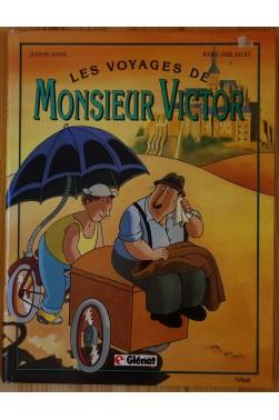 Les voyages de Monsieur Victor - BD EO - Glénat - 1989 - BE -