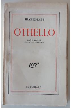 Othello traduction de l'anglais par georges neveux