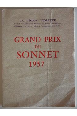 Grand Prix du Sonnet 1957. Edition originale numérotée.