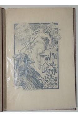 Traité sur l'écarté [ jeu de cartes ] Couverture illustrée par Léon Gambey - Reliure signée