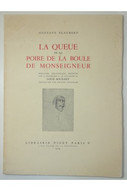 La queue de la poire de la boule de Monseigneur. Edition originale 1958