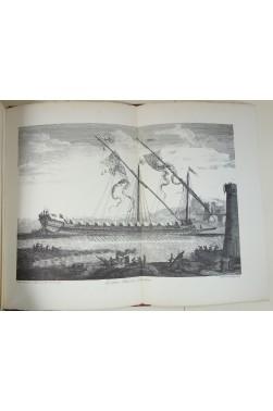 PASSEBON Plan de Plusieurs Bâtimens de Mer avec leurs proportions