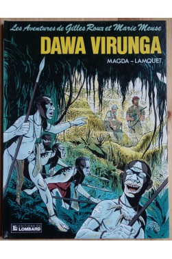 Dawa Virunga - Les Aventures de Gilles Roux et Marie Meuse - 1987 - EO -