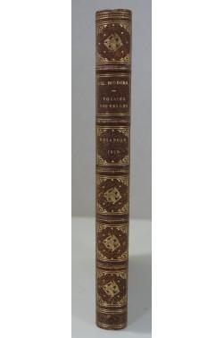 Poésies de Charles Nodier recueillies et publiées par N. Delangle - 1829. Reliure de Belz-Niédrée