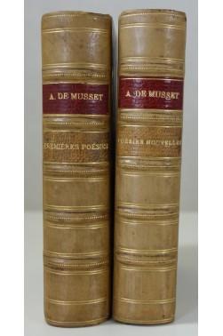 Alfred de Musset. Premières poésies 1829-1835 et Poésies nouvelles 1836-1852.