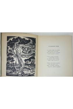 Armand Got. La passion des pins - Bois gravé de R. Cami