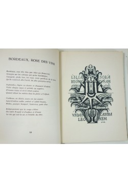 Armand Got. Bordeaux, rose des vins - Illustrations de Gaston Marty. EO sur vélin