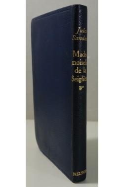 Jules Sandeau. Madame de Seglière - Nelson, 1937, relié