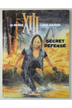 XIII t. 14 - Secret défense EO + 2 Ex-Libris numérotés et signés par Vance