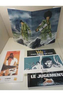 XIII t. 12 - Le jugement EO + couverture Maghen signée par Vance + 2 Ex-Libris