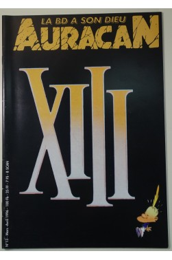 La BD a son dieu - Auracan n° 13 : XIII - Van Hamme - Vance -1996