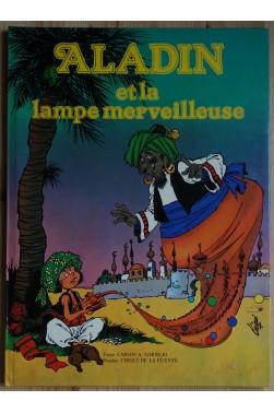 Aladin et la lampe merveilleuse - BD - C.A.Cornejo et C. de la Fuente - 1978 -